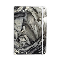 "Abstract Anarchy Design ""Inner Chaos "" Black Abstract Everything Notebook"