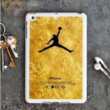 CREYUG7 Michael Jordan Golden Gold Pattern iPad Mini Case iPhonefy