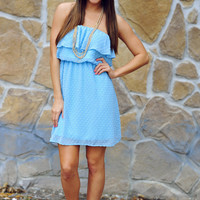 Only Just A Dream Dress: Baby Blue   Hope's