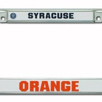 NCAA Syracuse Orange Chrome Plate Frame
