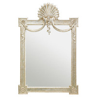 Regent's Oversize Mirror, Champagne | One Kings Lane
