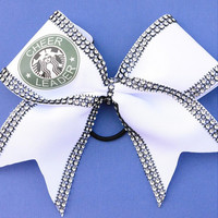 Cheerleader bling bow