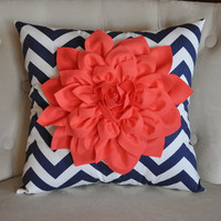 Navy Decorative Pillow