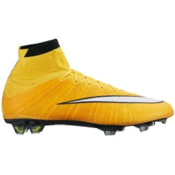 Nike Men's Mercurial Superfly FG Soccer Cleat - Gold/Black/White | DICK'S Sporting Goods