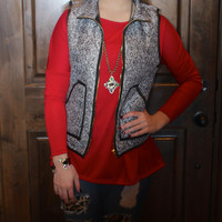 Herringbone Puffervest