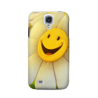 P1110 Smile Flower Case Cover For Samsung Galaxy S4 mini