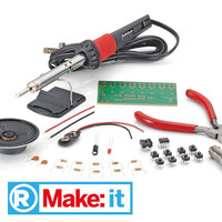 Make:it Learn to Solder Kit (Keyboard Project Included)