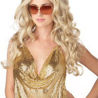 Blonde Super Modeal Wig - Womens Halloween Costumes