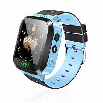 New Y03 Smart Watch Touch Screen LBS GPRS Locator Tracker Anti-Lost Smartwatch Baby Watch With Remote Camera SIM Calls for KIDS