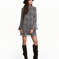 H&M Paisley Dress with Flounce $34.99