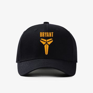 Trendy Winter Jacket Baseball Cap Kobe Bryant Los Angeles Commemorative retirement Adjustable Cap Casual leisure hats Solid Fashion Snapback Fall hat AT_92_12