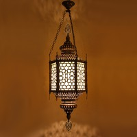 Crackled Moroccan Lantern Large | Lighting from Sweetpea & Willow