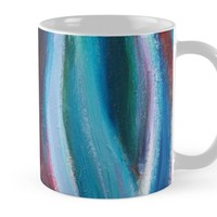 'Pregnancy | Abstract Painting' Mug by Maria Meester