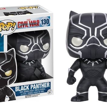 Black Panther Captain America Civil War Pop! Vinyl Figure #130