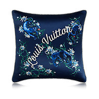 Products by Louis Vuitton: Blue Panther Cushion