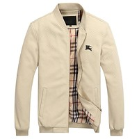 Boys & Men Burberry Cardigan Jacket Coat
