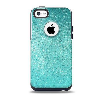 The Turquoise Mosaic Tiled Skin for the iPhone 5c OtterBox Commuter Case