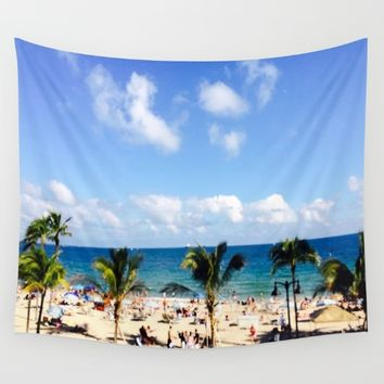 FT, Lauderdale   Wall Tapestry by Annette Forlenza