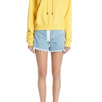 Off-White Arrow Crop Hoodie | Nordstrom