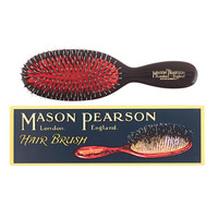 J.Crew Womens Mason Pearson Boar Bristle & Nylon Pocket Brush