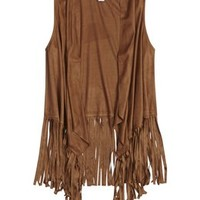 FAUX SUEDE FRINGE VEST | GIRLS FASHION TOPS TOPS | SHOP JUSTICE