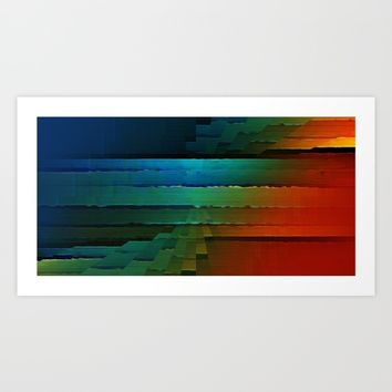 The Front Art Print by David Lee