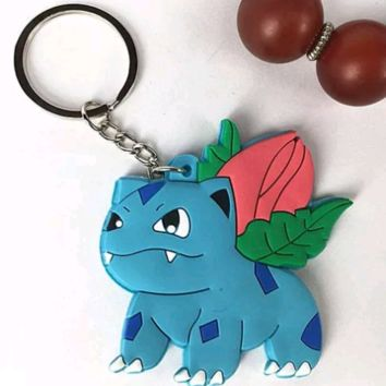 Brand New Video Game Pokemon Ivysaur Keychain
