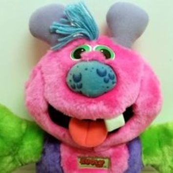 Zugly Marchon 1986 Monster Plush Toy 18 INCHES One Tooth Green Purple Pink VTG