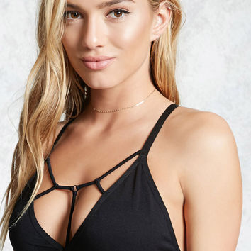 Caged Strappy Bralette