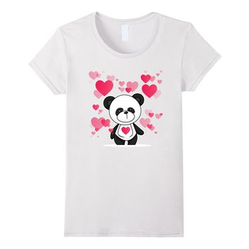 I Love You - Cute - Panda - Valentine's Day T-shirt