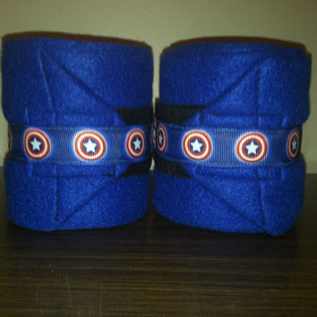 Captain America Polo Wraps