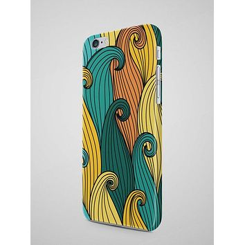Colorful Waves Pattern iPhone 7 Case iPhone 6S