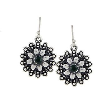 Flower Drop Earrings For Women