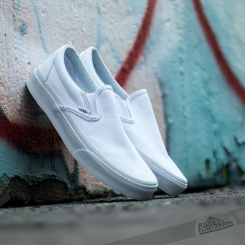VANS Unisex Classic Slip On - True White