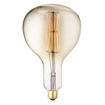 Edison Filament - Edison Antique Vintage Oversize Light Bulb - 1 Pack - Medium size - 60 wattage - E26 - 3,000 hrs of life 160 Lumens