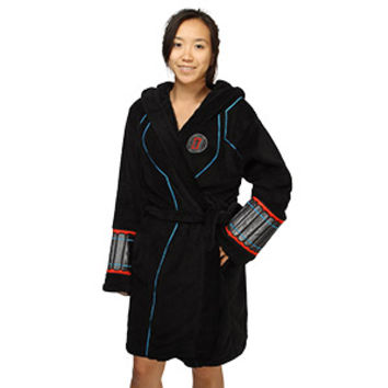 Black Widow Ladies' Fleece Robe