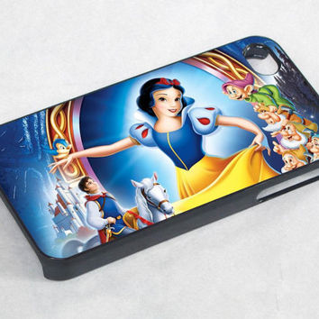 snow white and princess - iPhone 4 Case ,iPhone 5 case,samsung galaxy s3 and Samsung galaxy s4 Hard Plastic Case