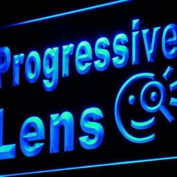Eyeglasses Progressive Lens LED Neon Light Sign