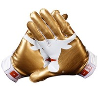 Nike Texas Longhorns 2013 Red River Rivalry Vapor Jet 2.0 Gloves