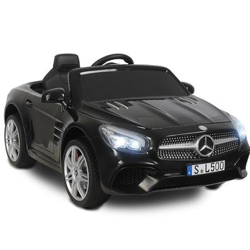 Uenjoy 12V Licensed Mercedes-Benz SL500 Kids Ride On Car Electric Cars for Kids w/Remote Control & Music & Spring Suspension ...