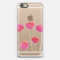Pink Tulips iPhone 6 case by Michele Spurza | Casetify