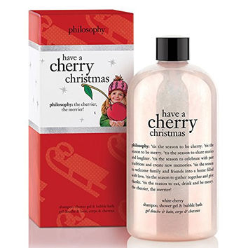 Philosophy shower gel - have a cherry christmas