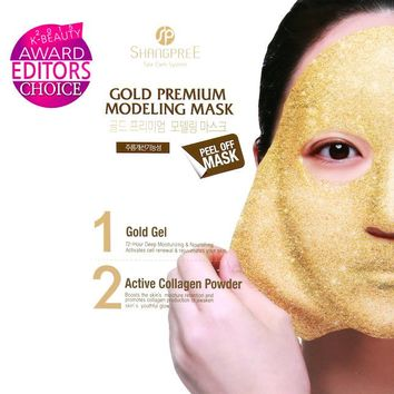 "Gold Premium Modeling ""Rubber"" Mask; Set of 5"