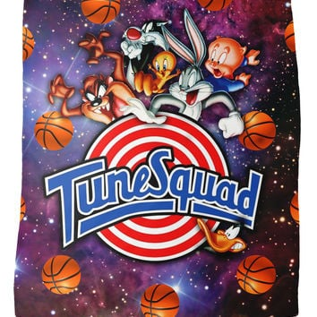 Space Jam Tune Squad Fleece Blanket