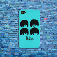 Cute Mint Beatles iPhone Case Cool Music Phone Cover John Lennon Case iPhone 4 iPhone 5 iPhone 4s iPhone 5s iPhone 5c Case