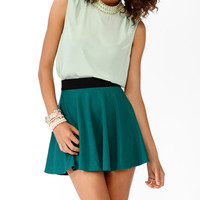 Spiked High Neck Top
