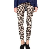 Triangle Chevron Leggings - 2020AVE