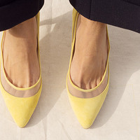 NEFERTITI HEEL, TUSCAN YELLOW