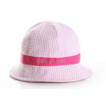 PEAP78W NEW Toddler Infant Sun Cap Summer Outdoor Baby Girl Hats Sun Beach Bucket Hat 3 Colors