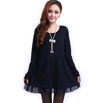 Summer Women's Fashion Long Sleeve Autumn Winter Clothing